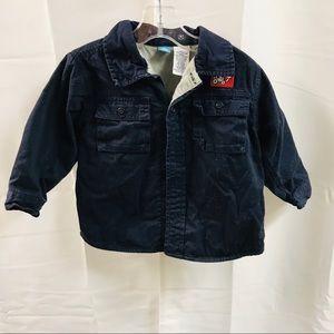 Vintage Gymboree Navy Blue Coat Tops Jacket